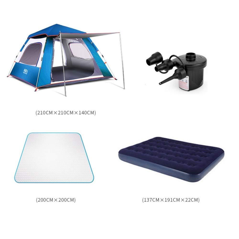 SGXDM Anti-Sturm-Verdickung des Zeltes im Freien Freien Freien 3-4 Leute, die automatisch 2 doppeltes Hauptkampieren wasserdicht kampieren B07PK7S3Y8 Firstzelte Charakteristisch 53050b