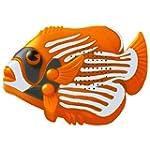Mini Angel Fish Shower Radio Orange