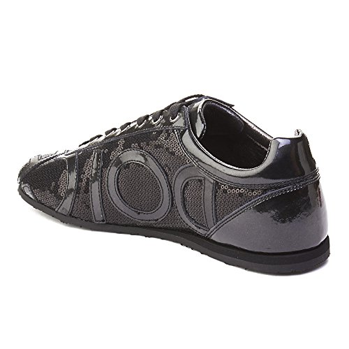 Mensen Dolce & Gabbana Logo Lovertjes Trainer Schoenen Zwart