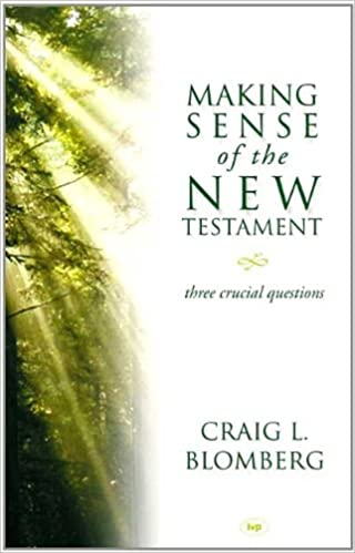 Book Making sense of the New Testament: Three Crucial Questions