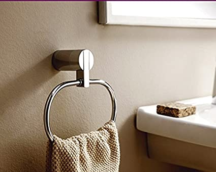Vasca Da Bagno Rotonda : Jarong anello portaasciugamano piena rame acido cromico wc vasca da