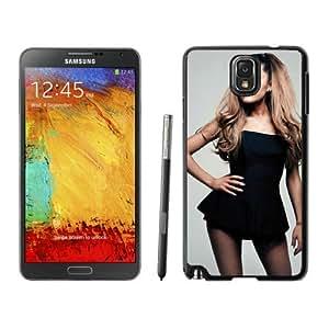 Ariana Grande Black Dress Black Samsung Galaxy Note 3 Screen Cellphone Case Popular and Unique Design