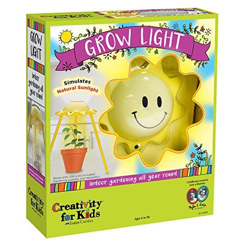 Creativity for Kids GROW Light Kit - LED Grow Light, Mimics Natural Sunlight Aquarium Terrarium