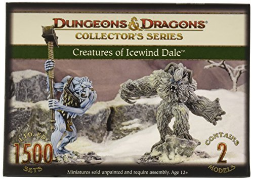 D&D Creatures of Icewind Dale 2 Figure Board Game by Battlefront Miniature