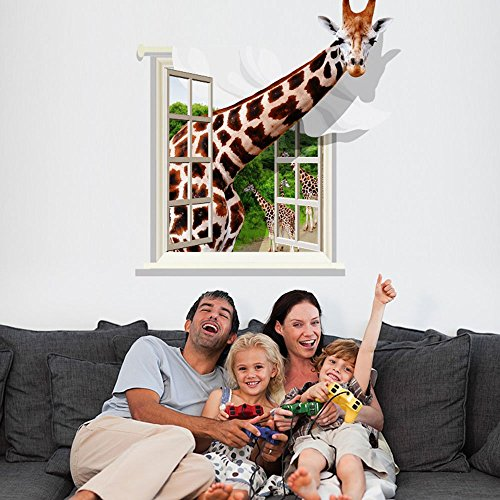 Giraffe Window - DNVEN Animals (30