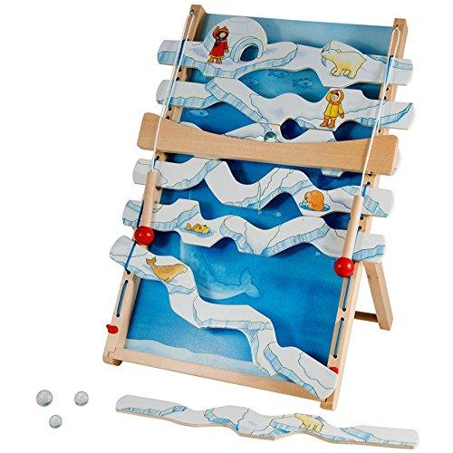 Jeu d'adresse de la banquise Grand jeu en bois très amusant Enfants 5 ans +