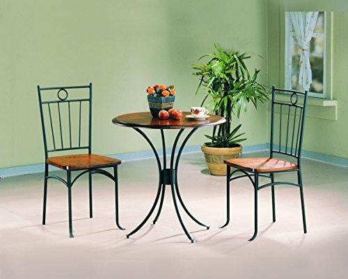 coaster-5939-metal-and-wood-3-piece-bistro-table-chair-set