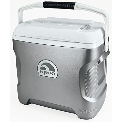 igloo-iceless-thermoelectric-cooler-silver-white-28-quart