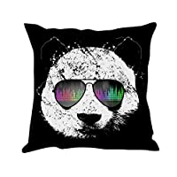 "Tom Boy Cute Animal Throw Pillows Covers Decorative Linen Sofa Cushion Cases Pillowcases for Couch,18""X18"""