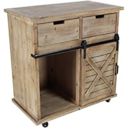 "GwG Outlet Wooden Metal Storage Cabinet 33""W, 34""H 84249"
