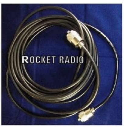 Cable coaxial (Mini RG8 RG8 X, con UHF PL259 de conectores, 5 m ...
