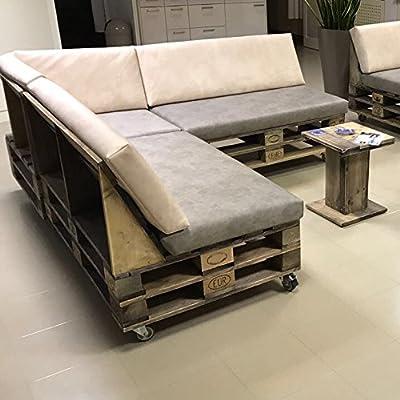 DerPalettenMöbelShop palé Muebles de Sofá Comfy de Cozy de Palets ...