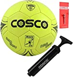 DealBindaas Cosco Rio Football with Hand Pump for Junior (Assorted Colours)