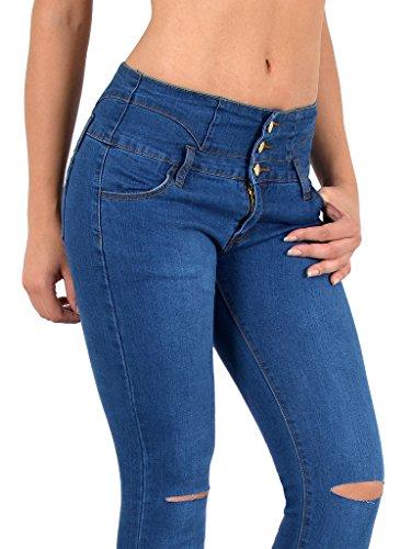 Jeans dchirs by Pantalon Haute Femme Jean Taille Jeans Z72 J297 surdimensionner Jean ou Femme Basse Skinny Genoux Taille tex en nZrZqvI