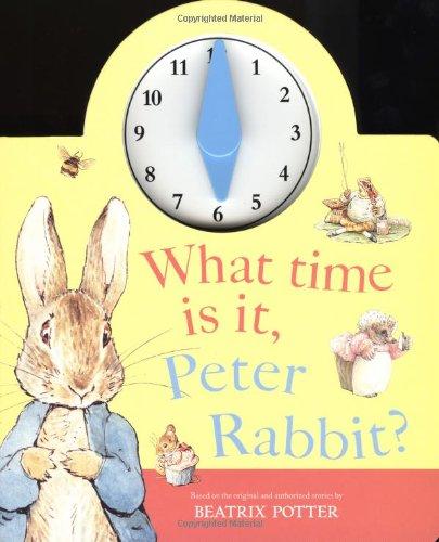 What Time is it, Peter Rabbit? pdf epub