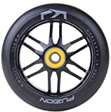 Fuzion Pro Scooter Wheels Dose Wheel 110mm (Black Ano with Black)