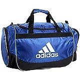 Adidas Defense Large Duffel Pocket Team Train Gym Travel Bag (Large, Bold Blue (Cobalt)