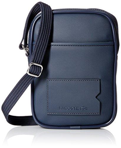 Lacoste Men's Classic Vertical Camera Bag, Black Iris, One Size