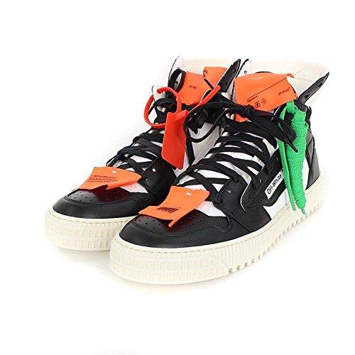 (オフホワイト) OFF-WHITE 【18SS】【3.0 Sneakers】レザーキャンバス切り替えハイカットスニーカー(40/ホワイト) 中古 B07DMQVQMH