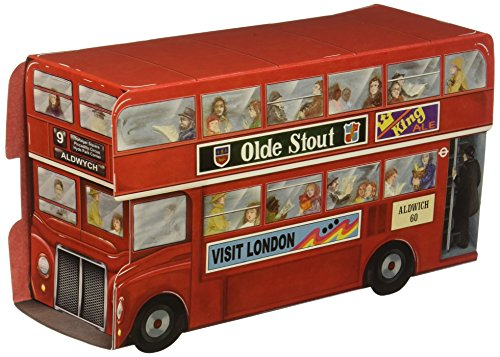 Beistle 54122 Double Decker Bus Centerpiece, 91/4-Inch -