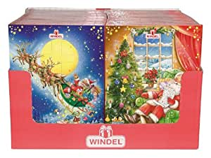 windel chocolate advent calendar pack of 4. Black Bedroom Furniture Sets. Home Design Ideas