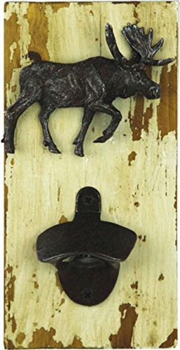 River's Edge Products Rustic Bear Bottle Opener