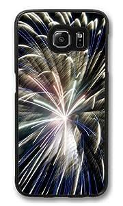 Fireworks Hdr Custom Samsung Galaxy S6/Samsung S6 Case Cover Polycarbonate Black