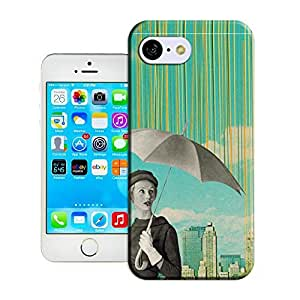 Xuey 409 This is it raining for iPhone5C Case- Compatible with iPhone 5C; Cute and fashion design.
