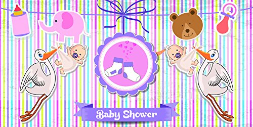 GIRL BABY SHOWER SCENE SETTER -