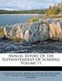 Annual Report of the Superintendent of Schools, , 1245339834