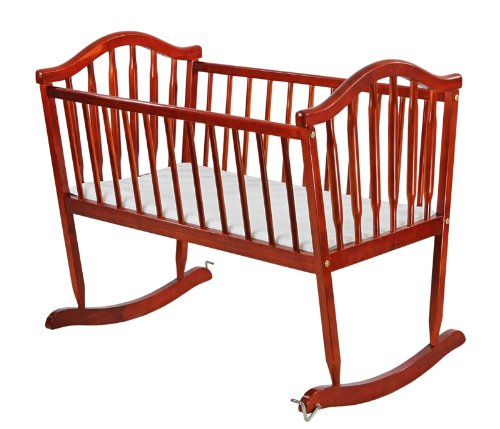 Find Discount Dream on Me Rocking Cradle, Cherry