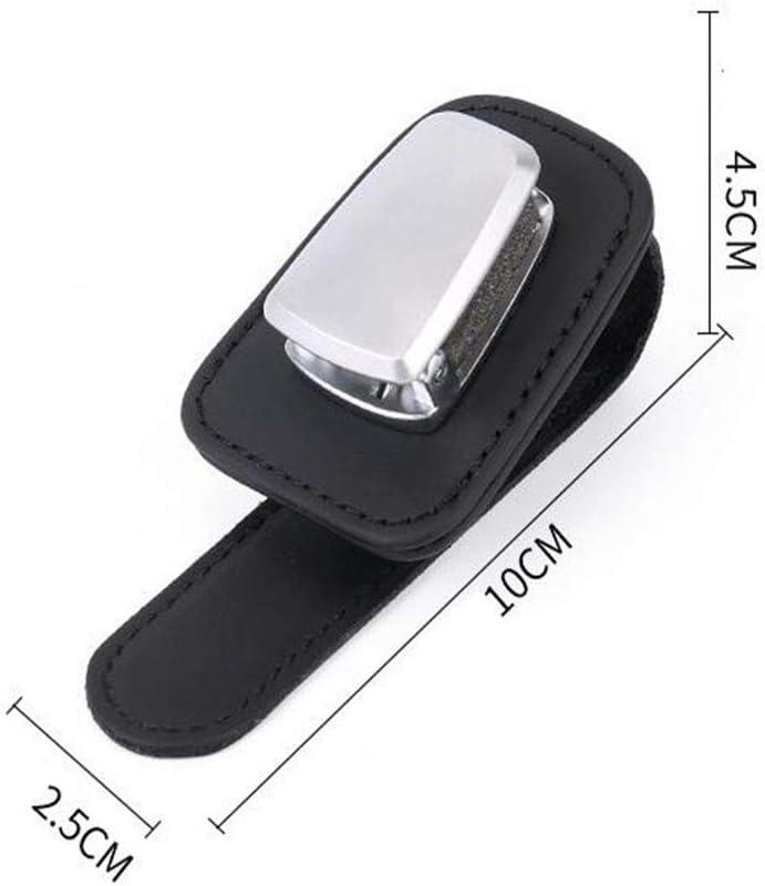 N\A Jiexue Support universel pour lunettes de voiture Clip Visi/ère de lunettes de soleil Support pour voiture