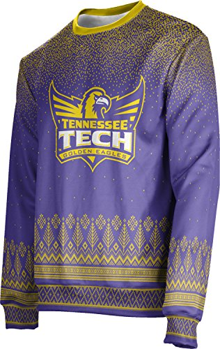ProSphere Tennessee Technological University Ugly Holiday Unisex Sweater - Blizzard - Technological Tennessee University