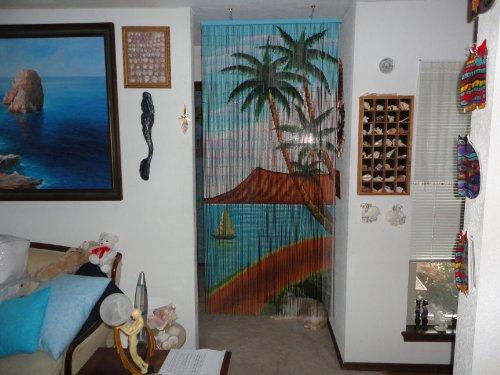 Palm Tree Beaded doorway Curtains