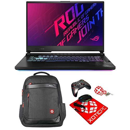 "ASUS ROG Strix G17 17.3"" 144Hz IPS Type FHD Intel Core i7 10th Gen 10750H (2.60 GHz) GeForce RTX 2070 16 GB Memory 512 GB NVMe SSD Windows 10 R GB KB G712LW-ES74 Gaming Laptop"