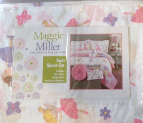 Maggie Miller Ballerina Twin Sheet Set by Maggie Miller Girls Twin Sheet Set