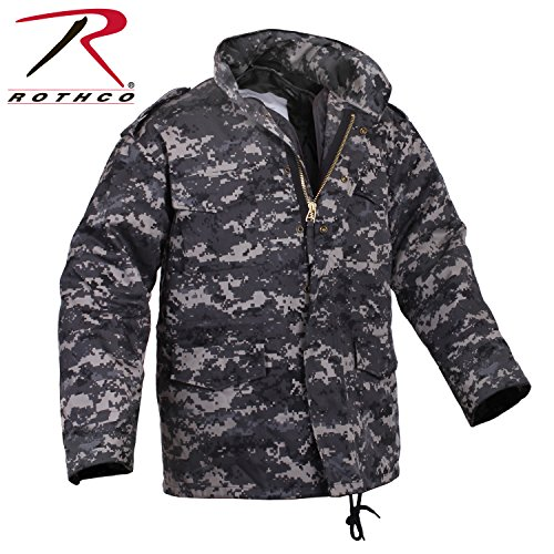 (Rothco M-65 Field Jacket, Subdued Urban Digital Camo, X-Large)