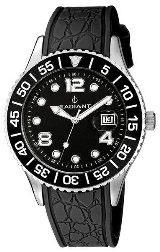 RADIANT Reloj de cuarzo Woman RA-119603 ACERO CALENDAR 42 mm: Amazon.es: Relojes