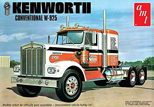 AMT AMT1021 1:25 Kenworth W925 'Moving On' Semi Truck