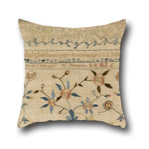 Oil Painting Sarah C. Neal, American - Sampler Throw Pillow Covers ,best For Car,gf,play Room,dinning Room,husband,outdoor 16 X 16 Inches / 40 By 40 Cm(double Sides)