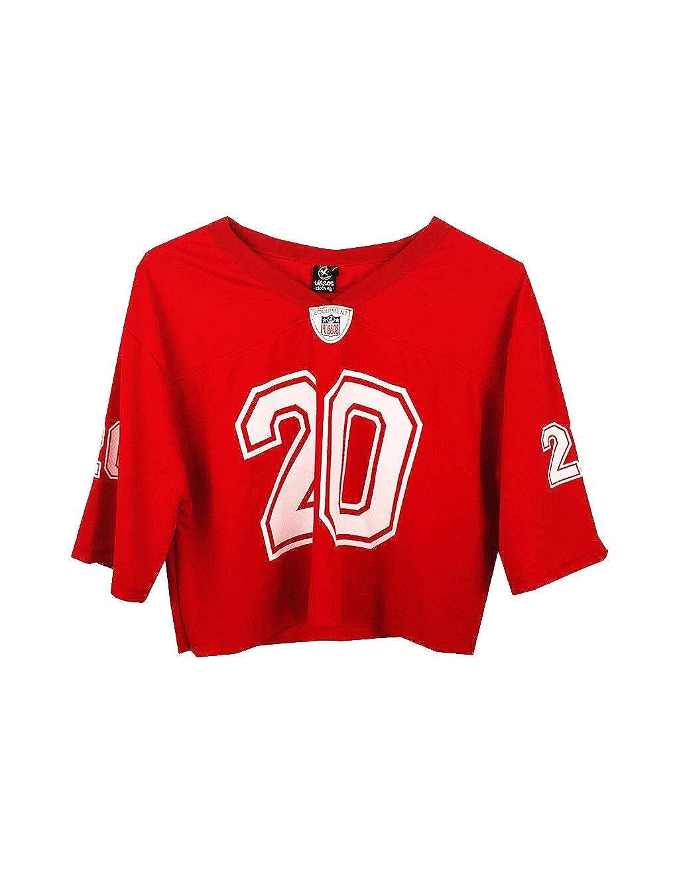 UISSOS Camiseta Futbol Americano Corta con Estampado Osaka número 20: Amazon.es: Ropa y accesorios