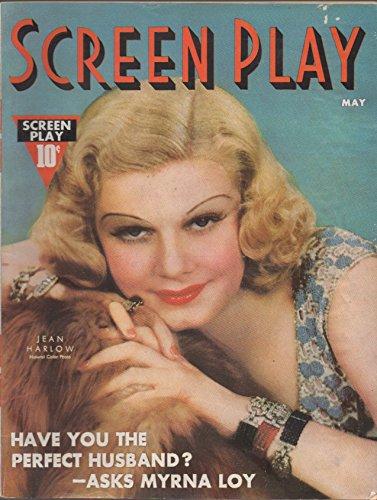 Screen Play, vol. XXI (21), no. 146 (May 1937) (Jean Harlow cover):