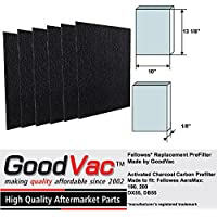 Fellowes AeraMax 200 190 Carbon Pre-Filter Replacement Filter by GoodVac (6)