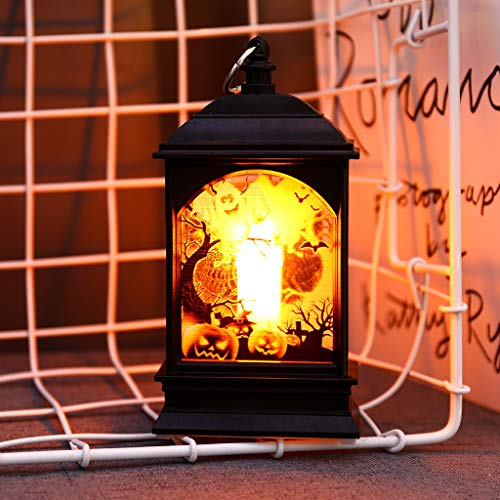 Nesee Halloween Pumpkin Light Lamp Door Room Decoration LED Lantern Party Home Props, Night Light Bedside Lamp As A Birthday Gift (Best Strobe Light For Party)