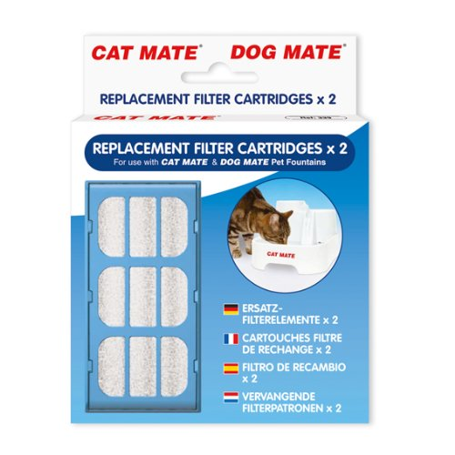 Cat Mate Pet Fountain Filter Cartridges Pet Mate ANI335