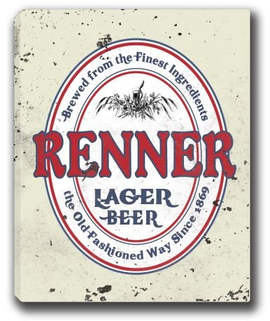 renner-lager-beer-stretched-canvas-sign-16-x-20