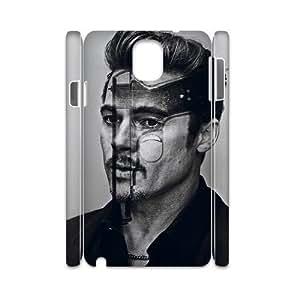 C-EUR Diy Case Brad Pitt,customized Hard Plastic case For samsung galaxy note 3 N9000