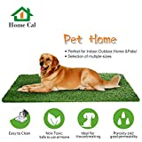 Home Cal Artificial Grass Rug Series Landscape Outdoor Decorative Synthetic Turf Pet Dog Area with Neat Edge 3cm 6'x10' Spring Grass