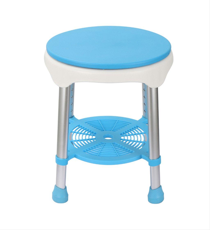 GRJH® シャワー椅子、回転できる老人シャワー椅子浴室椅子 防水,環境の快適さ   B07999N7KQ
