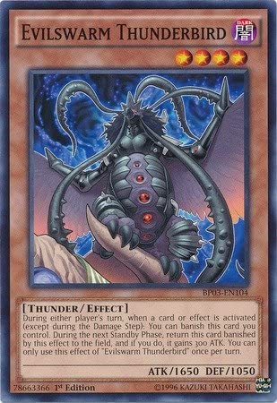 BP03-EN099 Evilswarm O/'lantern 1st Edition Mint YuGiOh Card